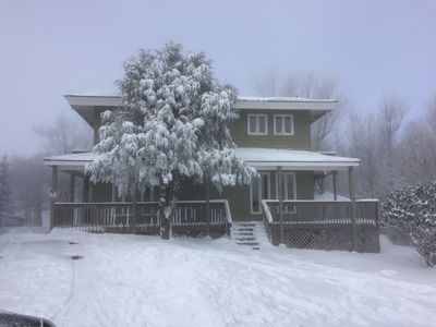 Photo for Ski Slope in Backyard!  Ski In/Ski Out Beautiful Beech Mountain Home!