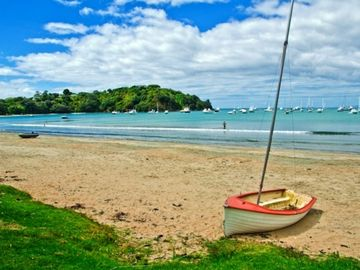 Omana Beach, Auckland, North Island, New Zealand