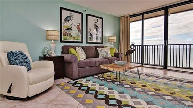Fabulous  Beachfront Escape on the Shimmering Sands of Exclusive Sand Key!
