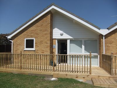 Photo for Relaxing Bungalow With Communal Pool, Ideal For Seaside Holidays And Breaks.