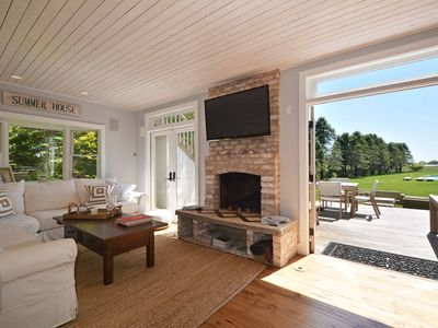 Photo for Child-Proofed Beach House and Cottage w/ pool fence- Walk to Beach!