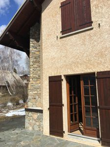 Photo for House type chalet in Embrunais between lake and mountain