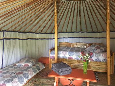 Photo for yurts of the factory calm and exotic environment