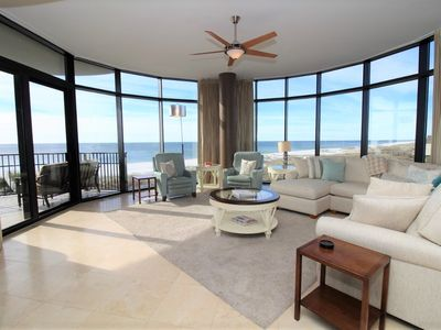 Photo for Capri 202- Beach Front unit with Free Seasonal Beach Service!