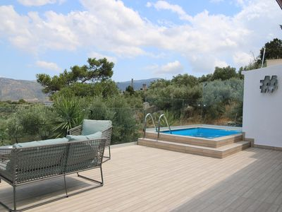 Photo for Lovely Villa with private pool close to beaches and spectacular mountain views