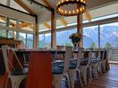 Panoramic views from every seat in the house! Watch the eagles soar & snow fall.