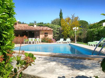 Photo for La Ciotat - Ceyreste for 6 pers Provencal villa with pool and summer kitchen