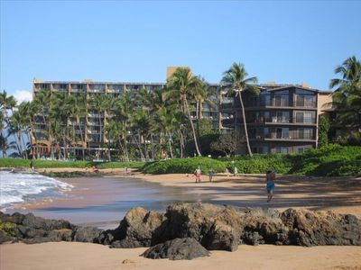 The building is ON Maui's best beach!
