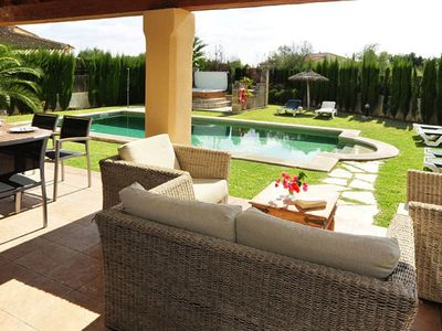 Photo for CA'N ALJANDRO LUXURY VILLA - Crestatx-Pollensa Private Pool & Free Wifi