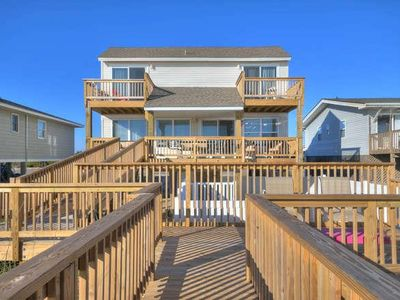 Photo for Breathtaking Oceanfront with POOL-4 BR/2 BA Beach Home Located on Desirable West Beach-Sleeps 10