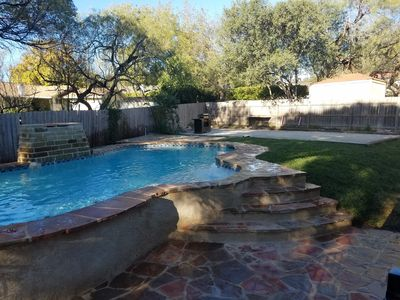 Photo for Amazing 5/3 home sleeps 12 w/heated private pool & entertainment room