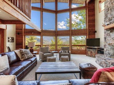Photo for Overlooks all of Big Sky- Spacious Mountain Home