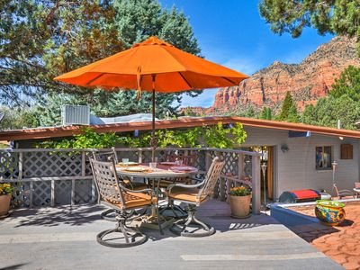 Photo for Sedona 'Casa Serena' w/Patios & Views -Near Trails