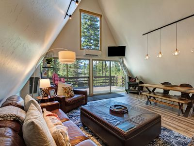 Photo for An Authentic A-Frame & Private Hot Tub