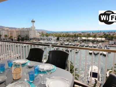 Photo for Apart-Rent-Apartment with WIFI, Smart TV, canal and sea view (0160)