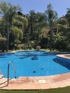 Photo for Luxury 3 bed Ground floor apt-Estepona/Marbella