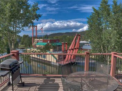 Photo for Cozy 1BD Condo w. Hot Tub Access, Across the Street from Quicksilver Lift!