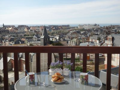Photo for One bedroom Apartment, sleeps 4 in Trouville-sur-Mer with WiFi
