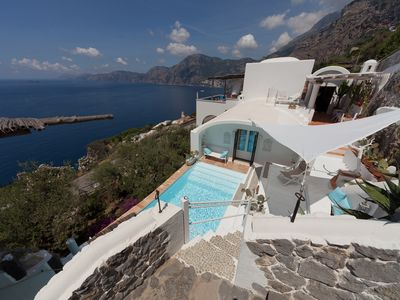 Photo for Luxury villa with breathtaking views of the Amalfi coast and private swimming pool