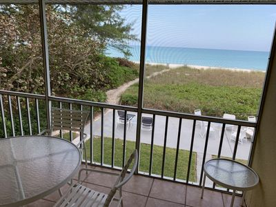 Photo for Outrigger #10: Beach Front  Apartment  1 Bedroom Directly on Gulf of Mexico