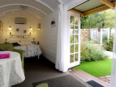 Photo for Nestled in Perth Hills Wine Region | Romantic BnB in Historic Railway Carriage
