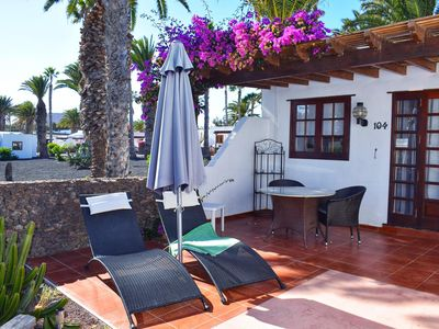 Photo for Villa 104, Las Brisas, In the heart of Playa Blanca. Lanzarote