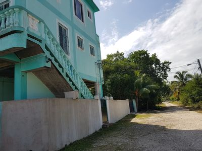 Photo for See Belize Relaxing 2-BR Vacation Rental with Panoramic Sea View Roof Terrace