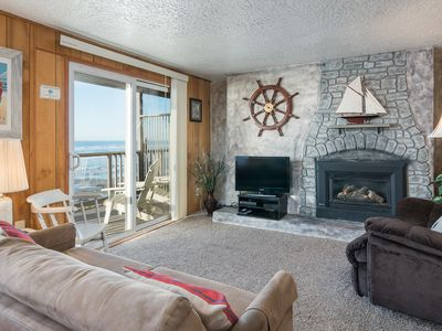 Photo for The Tide Pool - One bedroom, ocean balcony, Kitchen, fireplace, Wifi