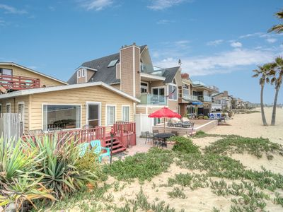 "Photo for ""Sandy Shores"" 3 Bed Classic Oceanfront Home On The Sand"