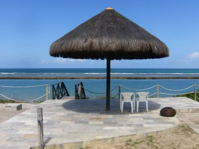 Photo for 10 Bungalow Condo waterfront - Muro Alto, Porto de Galinhas