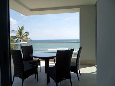 Photo for Elegant, luxury condo ocean view exclusive beach-front complex