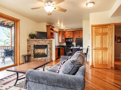 Photo for Castle Mountain 14B - 2 Br condo with Marys Lake and mountain views!