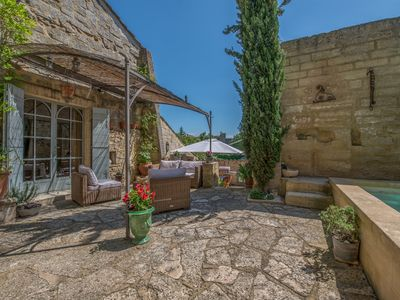 Photo for Portes D'Uzes, old bed and breakfast charming residence with swimming pool