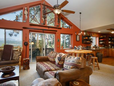 Photo for Mountain views that make you want to never leave! Quiet setting, beautiful home.
