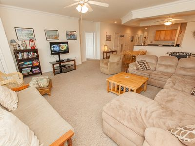 Photo for Comfortable & relaxing 3 bedroom northside unit on the first floor, elevator at complex
