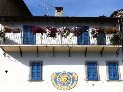 Photo for Iseo Lake : charming house on the ancient harbor of Riva di Solto.