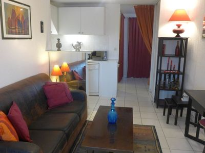 Photo for Apartment 11 m from the center of Cavalaire-sur-Mer with Lift, Parking, Internet, Washing machine (632681)