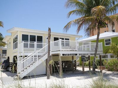 Front of Exterior of Beach Home.