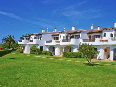 Photo for This 3-bedroom villa for up to 5 guests is located in Son Bou, Menorca and has a private swimming po