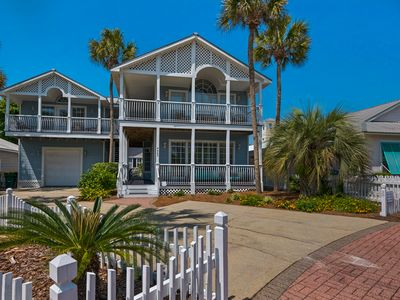 Photo for Perfect for Large Groups! Steps to Beach & Pool! Main House & Carriage House!