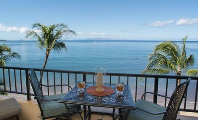Enjoy the turtles and whales, sunsets, and mai tais from your private lanai