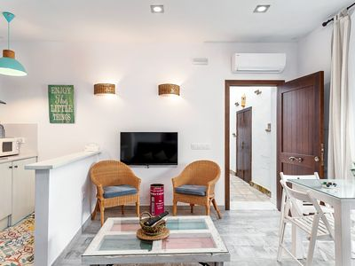 Photo for Modern Apartment in Great Location with Air-Conditioning & Terrace