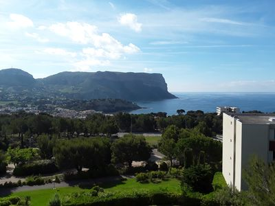 Photo for Magnificent apartment 4 pieces splendid sea view and cap canaille