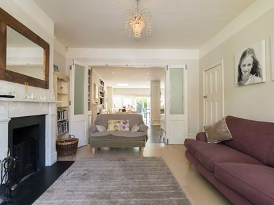 Photo for 5 bed family home with pretty garden moments from luscious Richmond Park (Veeve)