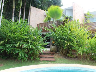 Photo for House in condo foot in the sand best location of Maresias Canto do Moreira