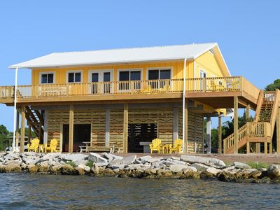 Photo for Super deal- April 6-13 180 degree water Views! Pool, HotTub, Dock, Game Room