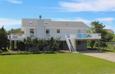 Photo for Wishing Whale - Freshly Remodeled Home on Grassy lot, Steps from the Beach