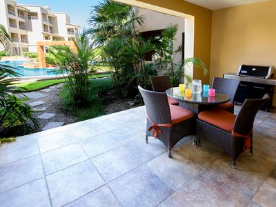 Photo for Beautiful 2 Bedroom Poolside Condo in Lovely Playa Del Carmen!! (Reef 105)