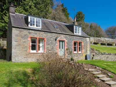 Photo for Secluded country retreat situated next to a magnificent walled garden