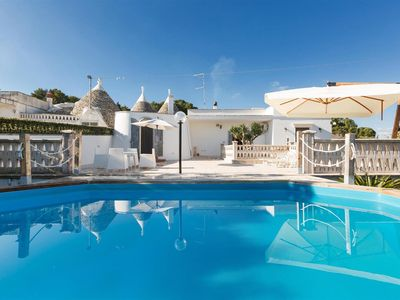 Photo for 769 Characteristic trullo with Pool in Martina Franca
